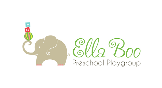 Aviza Design Ella Boo Preschool Playgroup Branding